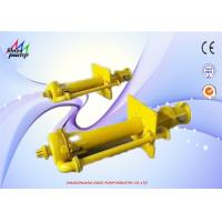 China High Chrome Vertical Sewage Pump With Electric Motor 220V 60Hz SPR Series on sale