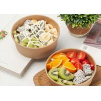 Best Disposable kraft paper bowl takeaway fast food container strong disposable bowls wholesale