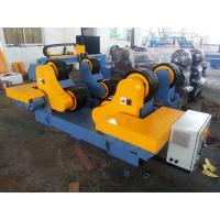 China Double Motor 60T Steel Pipe Welding Rollers with Electric Control System CE on sale