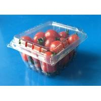 Best Disposable plastic fruit container Tomotos Grape Blueberry Strawberry packaging box PET food grade packaing FDA EU wholesale