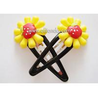 Best Fashion hair accessories customized metal flower hairpin for birthday wedding promotional gifts wholesale