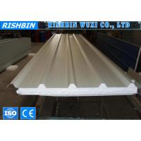 Best Environmental Corrugated Roof EPS Sandwich Wall Panels Roll Forming Products wholesale