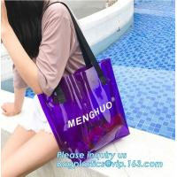 Best Recyclable Biodegradable Shopping Bags PVC Clear Shopping Gift With Card Header wholesale