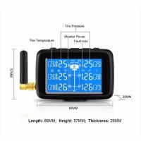 Cheap OEM Tire Pressure Monitoring System 6/10 Sensors For Truck Bus TPMS for sale