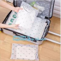 China Slider Lock Zipper One Side Clear Plastic Bags Suppier For Underwear, Natural Coex PP Grape reclosable slider bag, pet z on sale