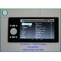 Buy cheap Custom Capacitive Cover Glass Touch Panel with IIC Interface 7H Hardness product