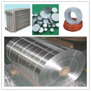 7075 7475 8011 8079 Aluminium Strip Coil /  Industrial  Aluminium Tape for Tubes