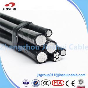 Best Power Transmission Line Melita Triplex Service Drop Cable XLPE Insulated wholesale