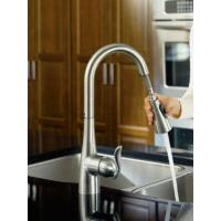 Cheap Single Handle Kitchen Faucet With Reflex Pullout Spray for sale