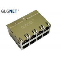 Buy cheap Multiple Port 10G RJ45 Connector Through Hole 10G Base - T Integrated Transforme from wholesalers