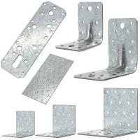 Best Building Corner Galvanized Steel Angle Brackets Heat Treating High Performance wholesale