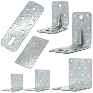 China Building Corner Galvanized Steel Angle Brackets Heat Treating High Performance on sale