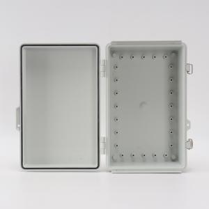 Best Junction Box Abs Hinged Plastic Enclosures For OT Sensors 300x200x130mm wholesale