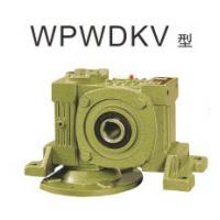Best WP series center distance 75 flange input ratio 25:1 single reduction worm gear reducer wholesale