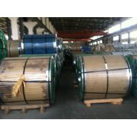 China 200 Series Stainless Steel Coils Grade 201 202 SS Coils 2B surface,Half Copper Stainless Steel Coil 201 wholesale