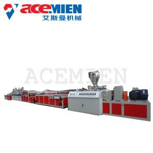 Best Plate Plastic Extrusion Machine PVC Rigid Imitation Marble Board Sheet wholesale