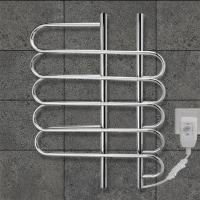 Best CUSTOMIZED   80w Stainless Steel Wall Mounted Electric Heated  Towel rail For washroom wholesale