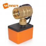 Best Motorized Electric Actuated Ball Valve Temperature Sensor 2 Way Actuator Dn20 / 220v wholesale