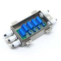Best 4 Way Weighing Sensor Load Cell Summing Junction Box Enclosure Small Stainless Steel Case wholesale