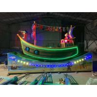 Best Crescent Moon Pirate Ship Running And  rotary  Voltage  220V/380V 50Hz wholesale