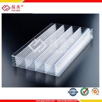 China 2015 hot sale transparent lexan multiwall polycarbonate sheet on sale