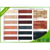 China Customised indoor decorative Split Face Brick , rediation free flexible ceramic tile on sale