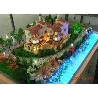 Best Beautiful Scale Model Scenery For Custom Residential Building Layout wholesale