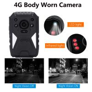 Best Full HD 1440P 3G 4G Security Guard Wireless WIFI Police Video Body Worn Camera wholesale