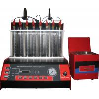 Best Automatic Car Fuel Injector Cleaning Machine With Mono Injector ,8 cylinders, 50r/min wholesale
