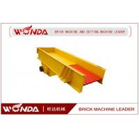 Best Vibrating Feeder Price For All Kinds Of Soft Or Hard Stones Apply to Mining Industry With 80 -120 T/h Capacity wholesale