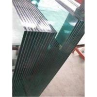 China Toughened safety glass 4-5 times strength than ordinary glass with polished edges on sale