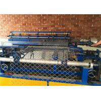 Best Single Wire Auto Chain Link Wire Mesh Fence Machine With Wire Thickness 2-4mm wholesale