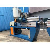 Best Fully Automatic XLPE Wire Extruder Machine With Caterpillar / Take Up Machine wholesale