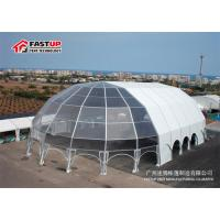 China 300 People Seater Canopy Party Tent For Festival Steel Frame Connection on sale