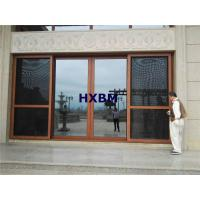 China AS2208 Standard Tempered Aluminum Sliding Doors Waterproof For Residential Houses on sale