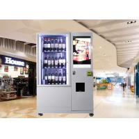 Best Bottles / Cans / Snacks Customed Mini Mart Vending Machine with Network LCD Advertising Display wholesale