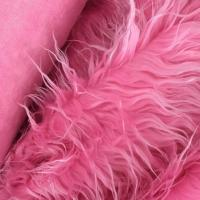 China Wholesale High Quality Custom Luxury Long Pile Fake Fur Artificial Faux Fur Fabric on sale