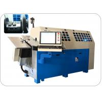 China CNC Control Spring Bending Machine 10 Axis With Flexible Safety Cutter on sale