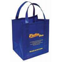 Best Promotional recyclable silk screen non woven shopping bag with custom color and logo printing wholesale