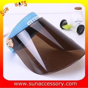 Best AK16102 PVC sun visor summer hats , promotion hats and cap for sale wholesale