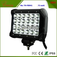 Best 72 Watt 7 Inch Four-Row LED off-Road Light Bar for 4X4 Vehicle wholesale