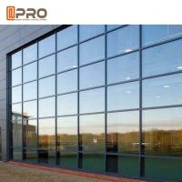 Best Hidden Framing Coated Glass Curtain Wall System For Exterior High Buildings wholesale