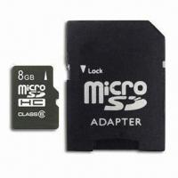 Best Micro SD Card with SD/SDHC Adapter, Low Power Consumption, Each Micro SD Comes with an SD Adapter wholesale