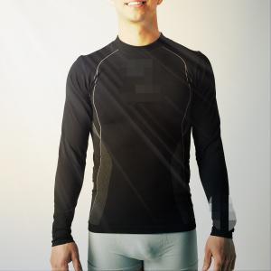 Best Man  running sportswear,   fit seamless running T shirts,   sports shirt  XLLS002 wholesale