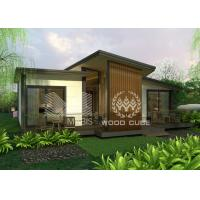 Buy cheap Ecological Modern Prefab Homes Quick Assembly Highly Insulated Family Use from wholesalers