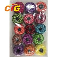Best Garments Accessories Colorful 100% Cotton Combed Embroidery Thread 24s/2 wholesale