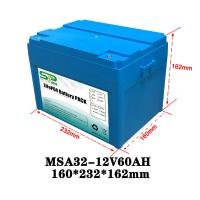 Best Lithium Polymer 60Ah 12v Lithium Ion Battery Pack 2000 Times Cycle Life wholesale