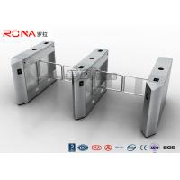 China Biometric System Electric Swing Barrier Gate Security Access Control System DC 24V on sale