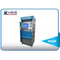 Cheap High Brightness Card Dispenser Kiosk With ID Card Scan Issuing For Hotel Check In for sale