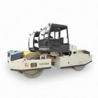 Best Tandem Vibrator Roller with Deutz Air Cooled Engine, 3,095mm Wheelbase and 2,100mm Drum Width wholesale